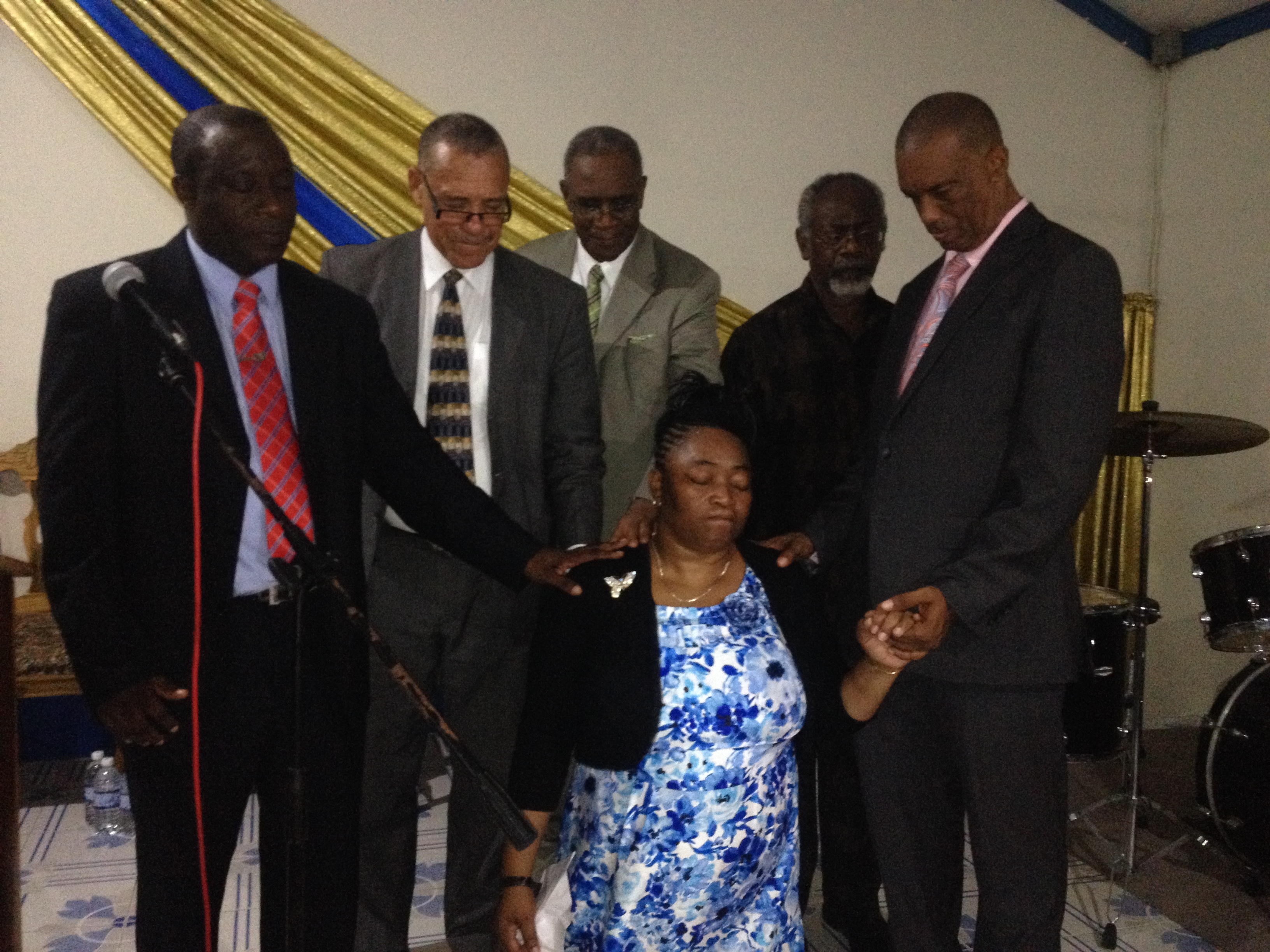 Rev. Salmon Ordination